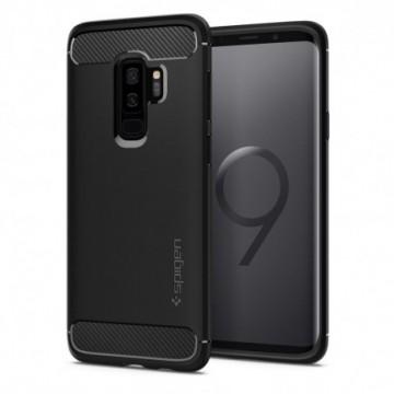 Spigen Rugged Armor Galaxy S9+ Plus Matte Black