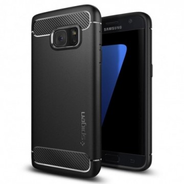 Spigen Armor Rugged Galaxy S7 Black