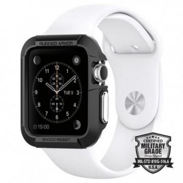 Spigen Rugged Armor Apple Watch 1/2/3 (38MM) Black