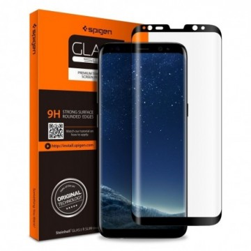 Spigen Glas.Tr Case Friendly Galaxy S8 Black