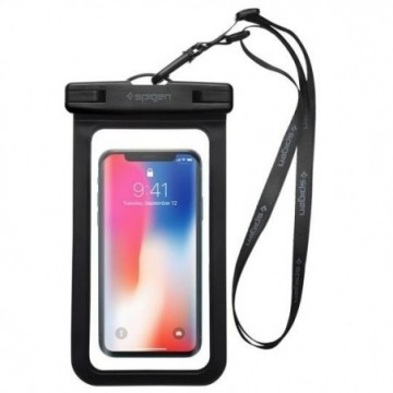 Spigen A600 Universal Waterproof Case Black