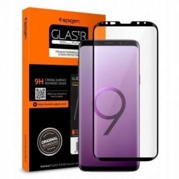 Spigen Glas.Tr Case Friendly Galaxy S9 Black