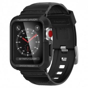 "Spigen Rugged Armor ""PRO"" Apple Watch 1/2/3 (42MM) Black"