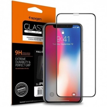 Spigen Glass Fc Iphone X/Xs Black