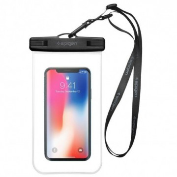 Spigen A600 Universal Waterproof Case Crystal Clear