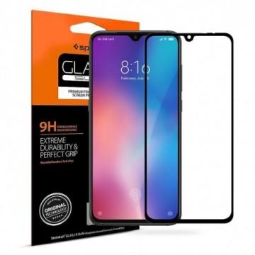 Spigen Glass Fc Xiaomi Mi9 Black