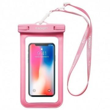 Spigen A600 Universal Waterproof Case Pink