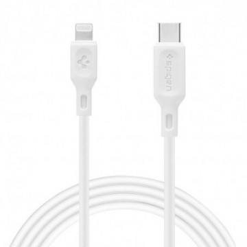 Spigen C10cl Mfi Type-C To Lightning Cable 100cm White