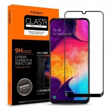 Spigen Glass Fc Galaxy A40 Black