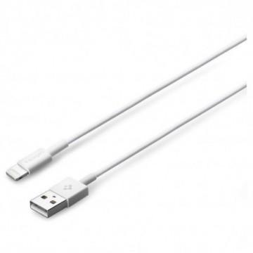 Spigen C10ls Mfi Lightning Cable 100cm White