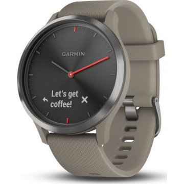 Garmin Vivomove HR Black/Sandstone
