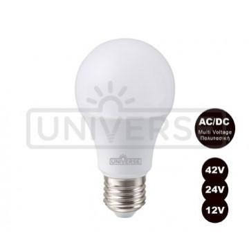 Λάμπα A60 LED Universe 10W 3000K - 12/ 24/ 42V