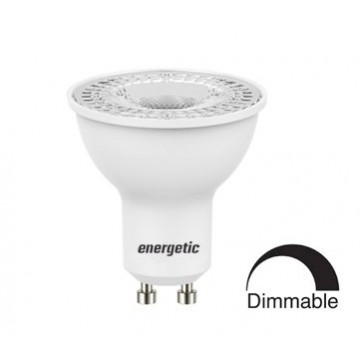 Λάμπα SPOT GU10 DIMMABLE LED SMD Energetic 4.9W