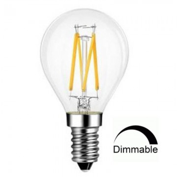 Λάμπα Ε14 Γλόμπος G45 LED Filament Universe 4W Dimmable