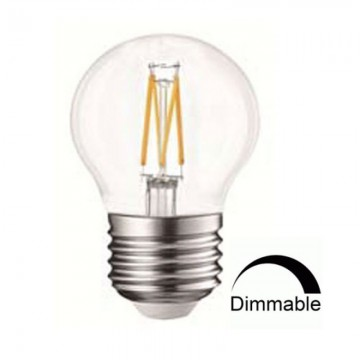 Λάμπα Ε27 Γλόμπος G45 LED Filament Universe 4W Dimmable