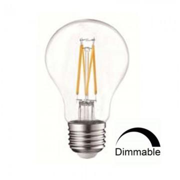 Λάμπα LED E27 FILAMENT A60 7W Universe Dimmable