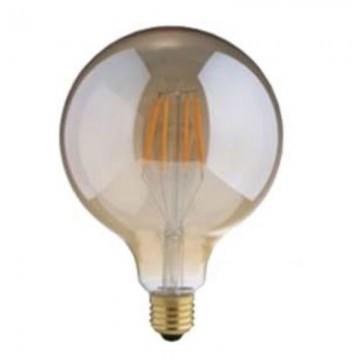 Λάμπα E27 γλόμπος G95 LED Filament Universe 6W μελί