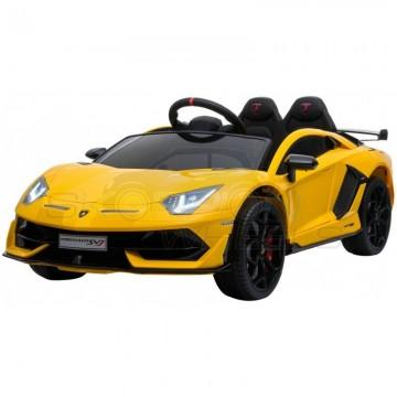 Ηλεκτροκίνητο  Lamborghini Aventador SVJ Original  52460671 Κίτρινο