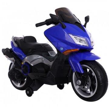 Ηλεκτροκίνητη μηχανή YAMAHA T-MAX Style, με βοηθητικές  πλαϊνές ρόδες, 5245091 Μπλε