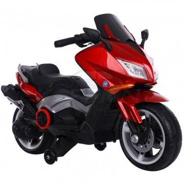 Ηλεκτροκίνητη μηχανή YAMAHA T-MAX Style, με βοηθητικές  πλαϊνές ρόδες, 5245091 Κόκκινη