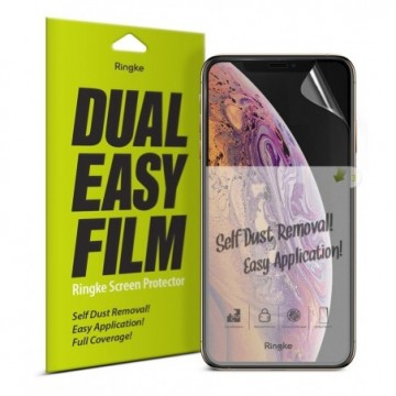 Ringke Dual Easy Film 2x protector iPhone 11 / iPhone XR (ESAP0002)