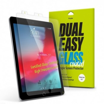 Ringke Dual Easy Glass Coated iPad 9.7'' 2018 / iPad 9.7'' 2017 / iPad Air 2 / iPad Air (DCAP0004)