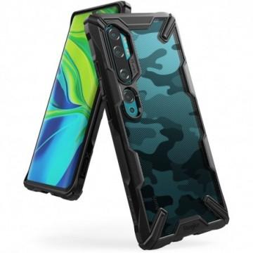 Ringke Fusion X Design Case  Xiaomi Mi Note 10 / Mi Note 10 Pro / Mi CC9 Pro Camo Black (XDXI0005)