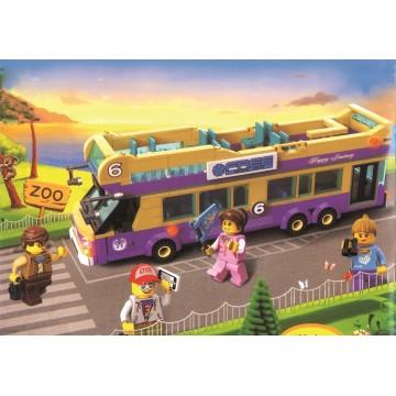 Τουβλάκια Enlighten 1123 Εκδρομικό Λεωφορείο 455τμχ.