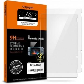 Spigen Glas.Tr Slim 2-Pack Nintendo Switch