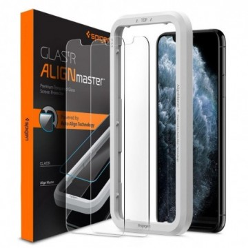 Spigen Alm Glas.Tr Slim 2-Pack Iphone 11 Pro Max