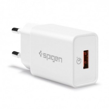 Spigen F111 Qc3.0 Network Charger White