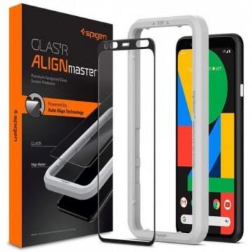 Spigen Alm Glass Fc Google Pixel 4 Xl Black