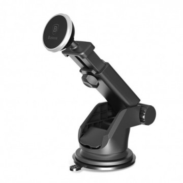 Baseus Solid Series TelescopicCar Holder silver (SULX-0S)