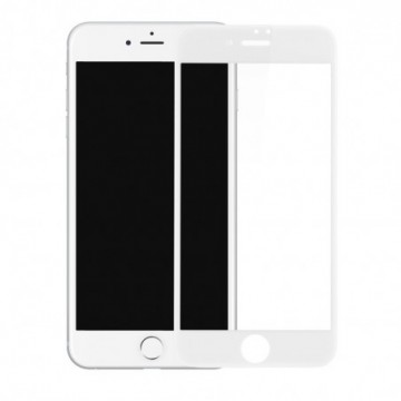 Baseus PET Soft 3D Tempered Glass for iPhone 8 / 7 white (SGAPIPH8N-PE02)