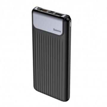Baseus Thin Digital Power Bank 10000 mAh black (PPYZ-C01)