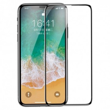 Baseus Tempered Glass for iPhone 11 Pro / iPhone XS / iPhone X black (SGAPIPHX-KE01)
