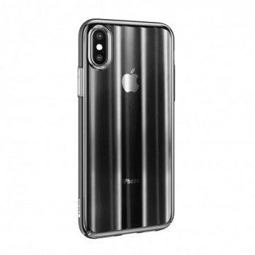 Baseus Aurora Case Ombre Cover for Apple iPhone XS Max black (WIAPIPH65-JG01)