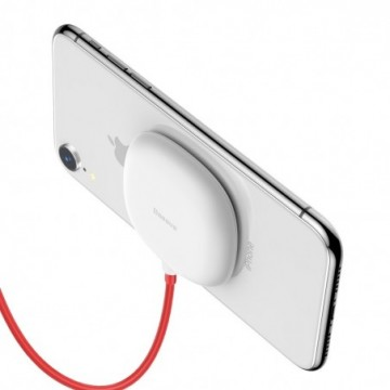 Baseus Suction Cup Qi Charger with Suckers (WXXP-02) white