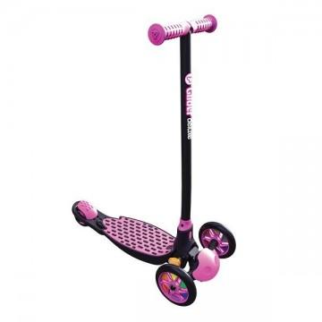 Πατίνι Y Glider Deluxe 18' Ροζ