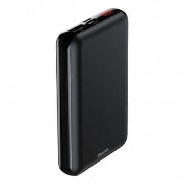 Baseus Mini S Digital Display PD Compact Power Bank 10000 mAh black (PPALL-XF01)
