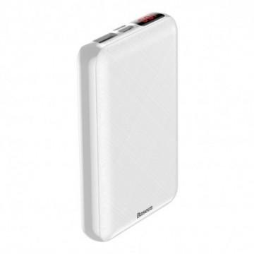 Baseus Mini S Digital Display PD Compact Power Bank 10000 mAh white (PPALL-XF02)