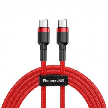 Baseus Cafule Cable Durable Nylon Braided Wire  1M red (CATKLF-G09)