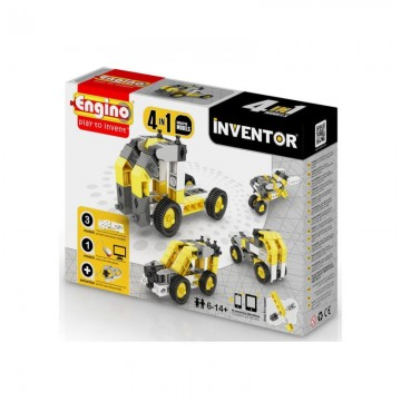 Engino Inventor Δομικά Οχήματα 4 σε 1