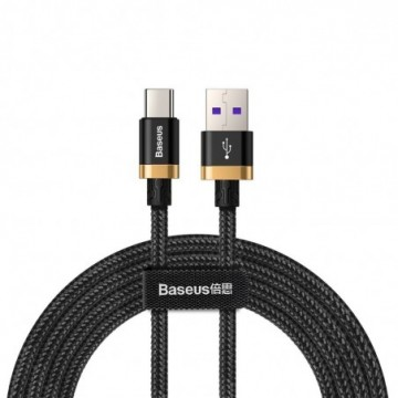 Baseus Purple Gold Red USB / USB-C Cable SuperCharge 40W Quick Charge 3.0 QC3.0 2M black (CATZH-BV1)
