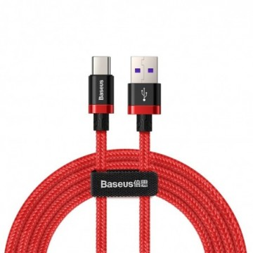 Baseus Purple Gold Red USB / USB-C Cable SuperCharge 40W Quick Charge 3.0 QC3.0 2M red (CATZH-B09)