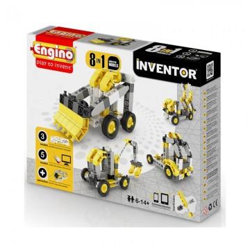 Engino Inventor Δομικά Οχήματα 8 σε 1