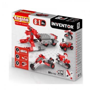 Engino Inventor Μοτοσυκλέτες 8 σε 1