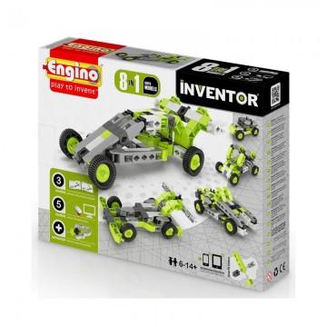 Engino Inventor Αυτοκίνητα 8 σε 1