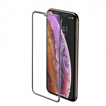 Baseus Tempered Glass with Speaker Protector for Apple iPhone 11 Pro Max / iPhone XS Max black (SGAPIPH65-WB01)