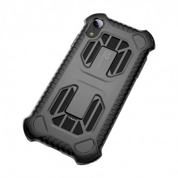 Baseus Cold Front Cooling Case Durable Cover for Apple iPhone XR black (WIAPIPH61-LF01)
